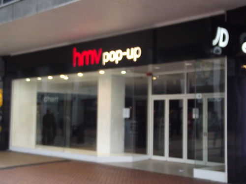 HMV Pop-Up - New Street, Birmingham