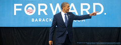Barack Obama FORWARD Facebook cover