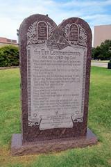 Austin - Texas State Capitol: The Ten Commandments