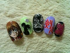 "Anime Fingernails 13 • <a style=""font-size:0.8em;"" href=""http://www.flickr.com/photos/66379360@N02/8440916586/"" target=""_blank"">View on Flickr</a>"