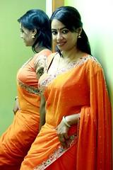 South actress Madhu Chanda Photos Set-1-Hot In Saree (2)