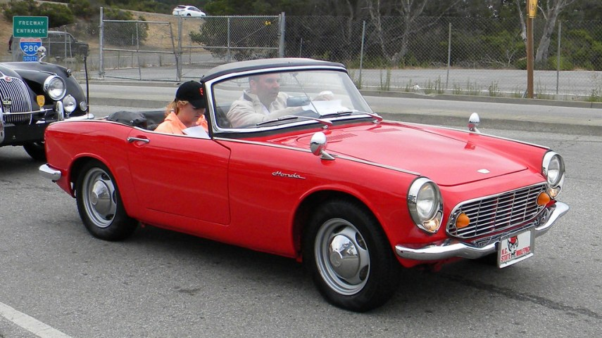 1964 studebaker cars » Blog Post   Honda s Sports Car Past  and Its Future   Car Talk 1965 Honda S600 Roadster  XVS 1426   2 by Jack Snell   Thanks for