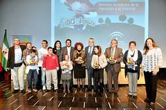 Entrega Premios Andaluna 2012