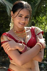 South actress MADHUCHANDAPhotos Set-3-HOT IN TRADITIONAL DRESS (10)