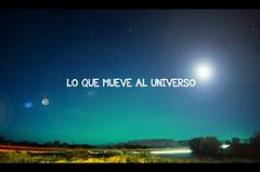 What moves the universe :: Lo que mueve al uni...