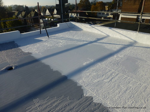 liquid flat roof gacoroof london 15 by EPDM Rubber Flat Roofing, on Flickr