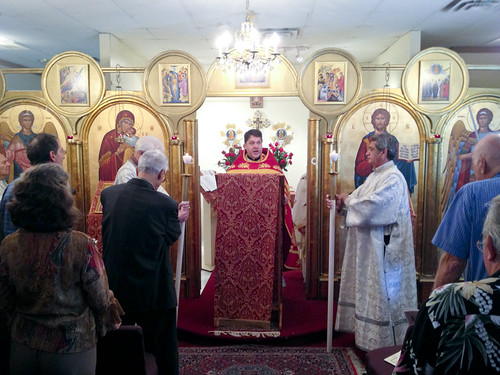 "Father Soroka celebrates the Divine Liturgy • <a style=""font-size:0.8em;"" href=""http://www.flickr.com/photos/72479515@N06/8283526894/"" target=""_blank"">View on Flickr</a>"