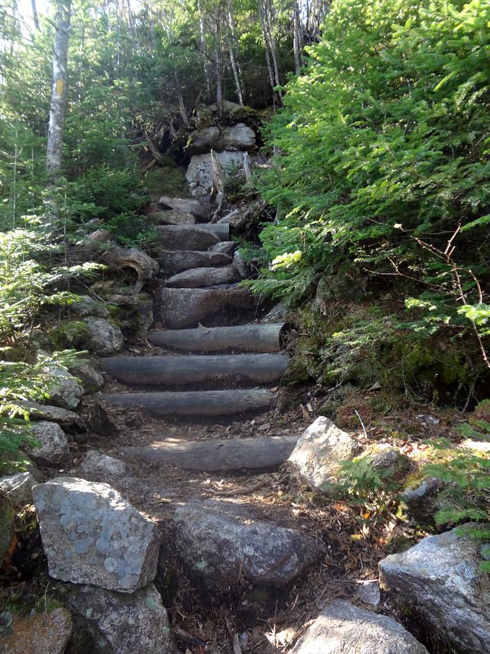 Hike Mt Flume Via The Osseo Trail In The Pemigewasset