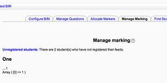 Manage marking has an error by David T Jones, on Flickr