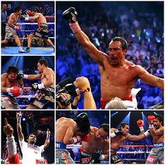 The Pacquiao-Marquéz rivalry known for its lac...