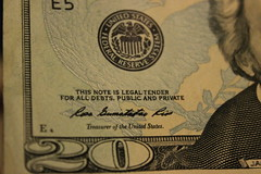 Dollar Debt. This note is a legal tender for a...