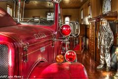 Elgin,Illinois Fire Museum 1954 Ward La France