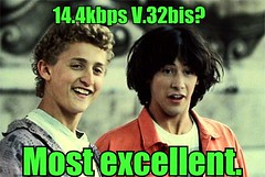 Bill and Ted's Dialup Adventure