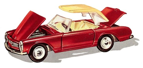 Dinky Toys F MB 230 SL