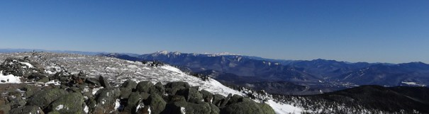 Mt. Moosilauke Winter Panoramic of the Appalachian Trail