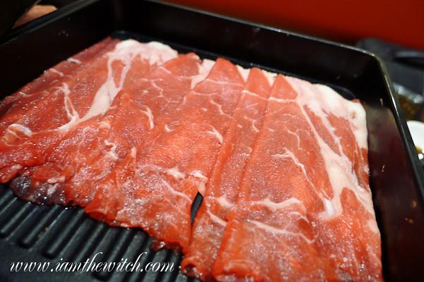 Lamb slices