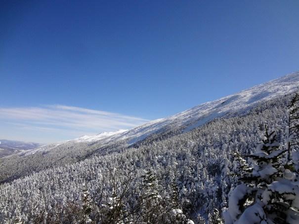 Mt. Madison Gordon Ridge in Winter
