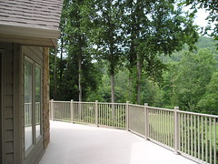 """Meeting national safety standards and International Residential Code for deck guardrail requirements, 3""""x3"""" Rail Posts are available 36"""" in height for rail applications in single family homes and 42"""" in height for multifamily housing units or buildings su"""