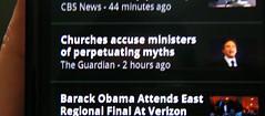 Easter morning headline