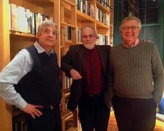 Steven Cohen, Barnaby Evans and John Schenck