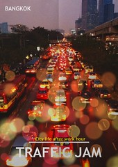 Traffic Jam at Bangkok