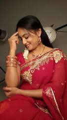 South actress Madhu Chanda Photos Set-1-Hot In Saree (16)