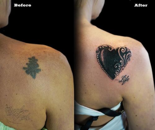 Letter Tattoo B Angel Wings