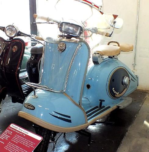 Triumph Tessy Luxus 122cc 1956