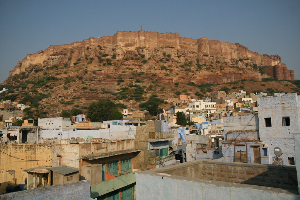 Merangarh Fort in Jodhpur