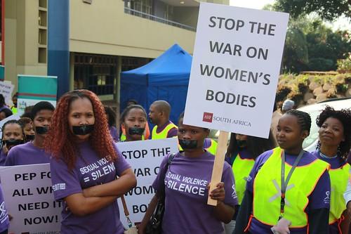 Silent Protest: Durban, SA - August 24, 2016