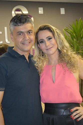O casal 20 da medicina regional, Marco Antônio Castro e Cybelle Vasconcelos Castro