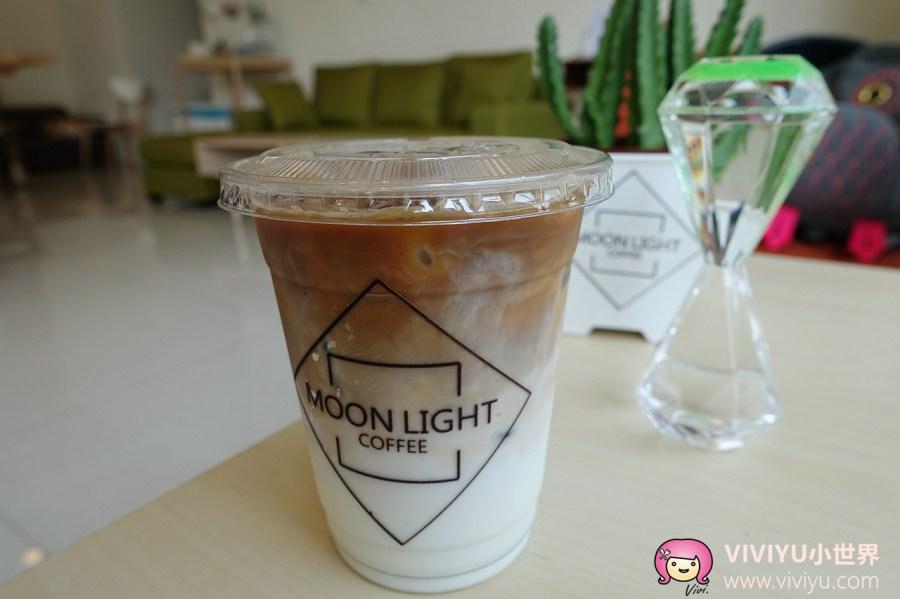 咖啡館,月光咖啡,桃園咖啡,桃園美食 @VIVIYU小世界