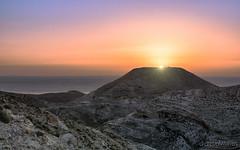 Sunset behind Herodes fort