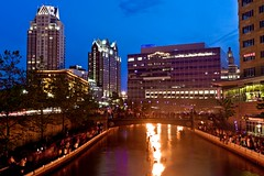 Look! WaterFire! and Providence Place!