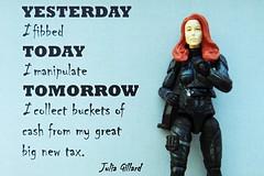 Gillard yesterday today tomorrow