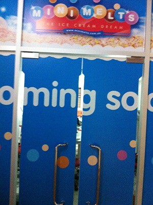 Kidzania Ice Crem Factory - coming soon