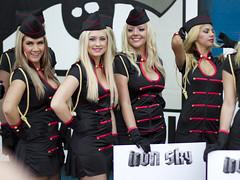 Iron Sky promo girls