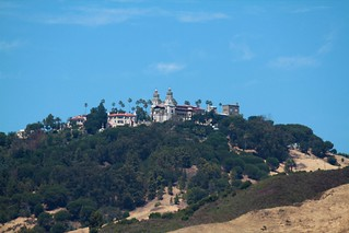 Hearst Castle on the hill