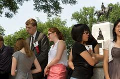 06192012 - Presidential Scholars Outside White House 22
