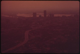 Smog Over Louisville And Ohio River, September...