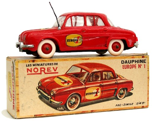 Norev Dauphine Europe 1