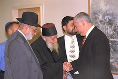 P.M. Netanyahu and Rabbi Kaduri