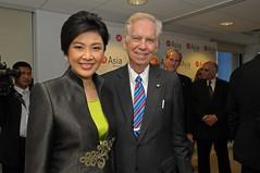 Thai PM Shinawatra at Asia Society 14