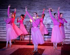 Ballerinas perform in Illuminations of Light Ceremony