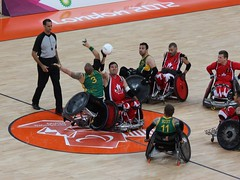 London 2012 Paralympics Wheelchair Rugby (Murd...