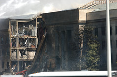 Pentagon Building After Terrorist Attack, 11 S...