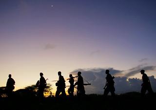 Troops Advance during Anti-Shabaab Operation i...
