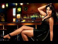 South Actress SANJJANAA Photos Set-11