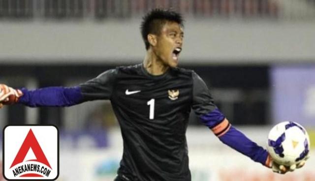 #Bola: Meiga Siap Jaga Gawang Timnas Indonesia Lawan Malaysia