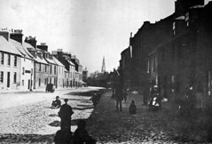 """Irvine High Street looking south from below the junction with Seagate, mid 19th Century • <a style=""""font-size:0.8em;"""" href=""""http://www.flickr.com/photos/36664261@N05/8137604983/"""" target=""""_blank"""">View on Flickr</a>"""